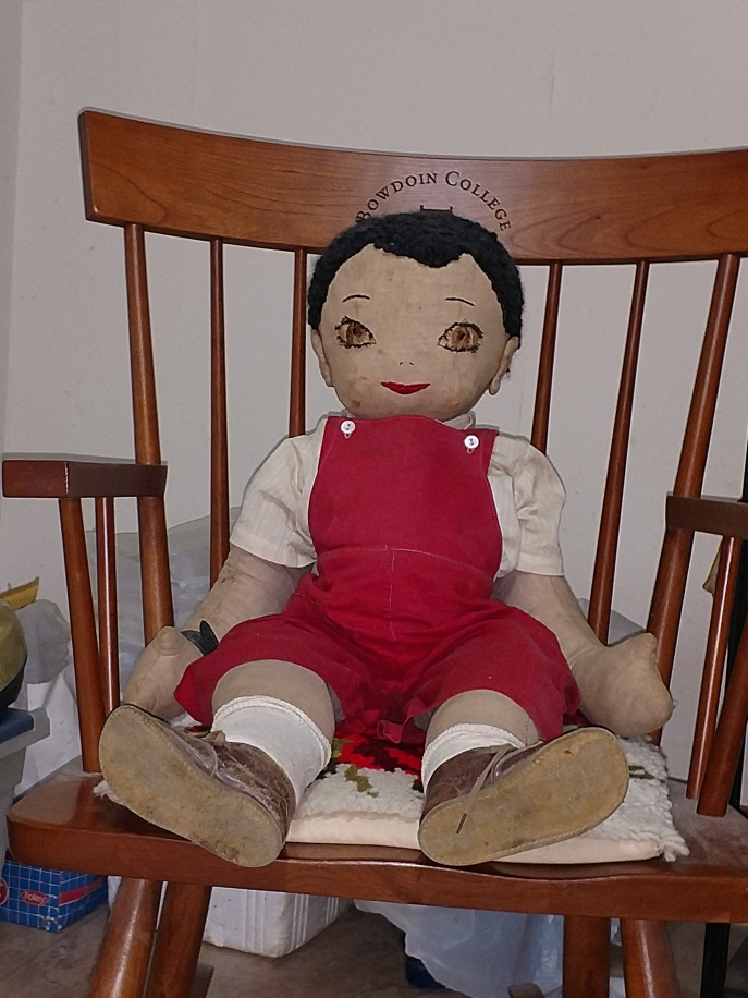 Edith Paton's Doll named Cookie
