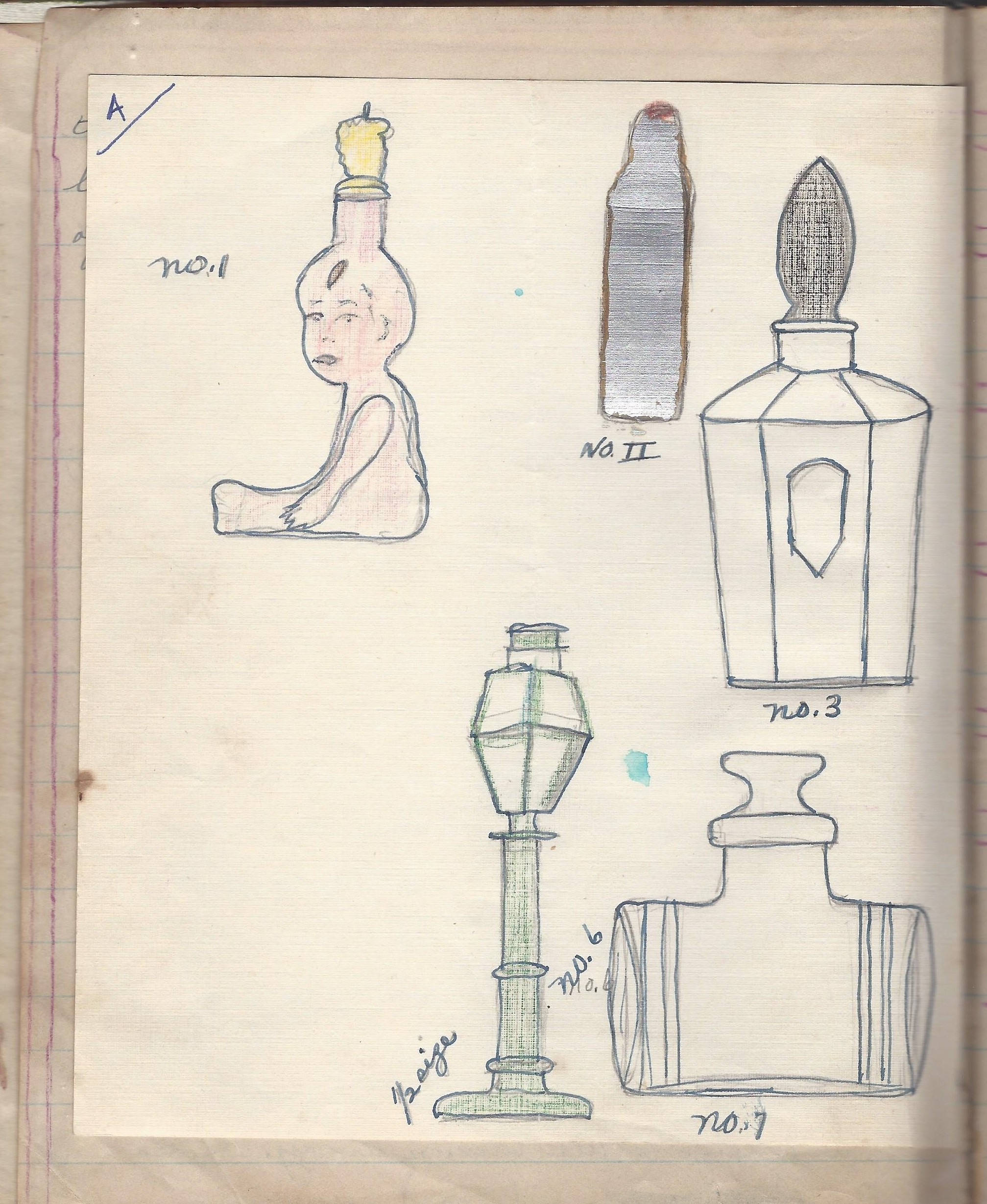 Edith Patons Perfume Bottle Collection 1926 1976 Journey Home