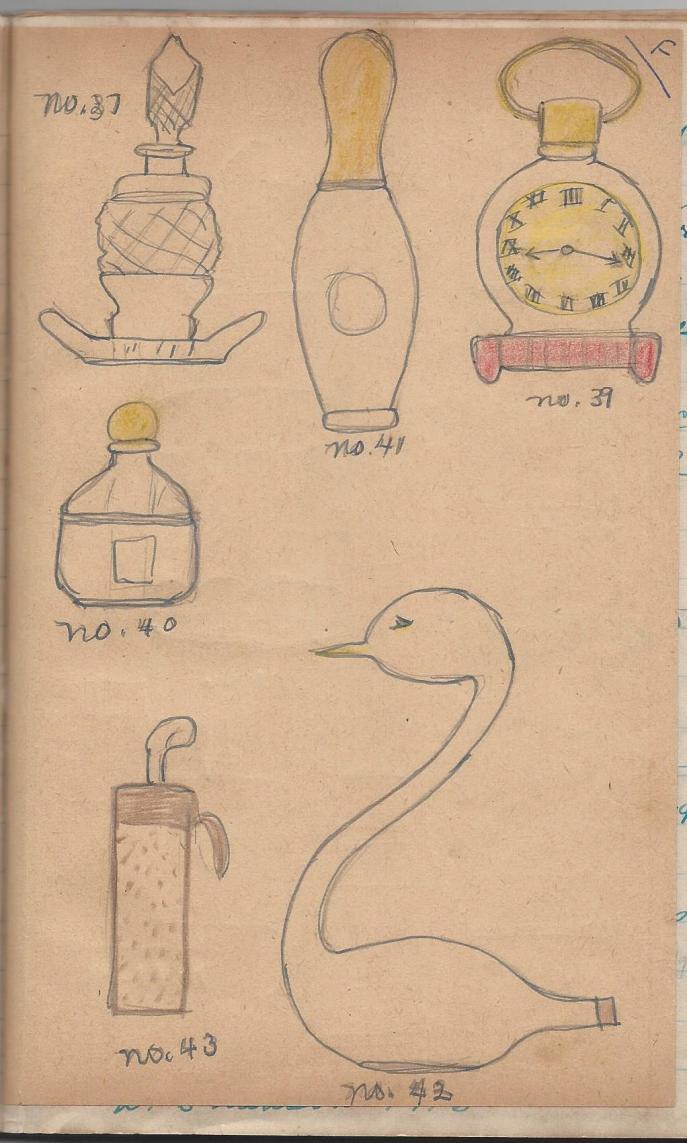Perfume Bottles shaped like household items