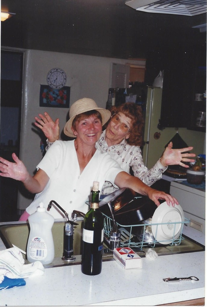 Mom and Bonnie in the kitchen - PBH (2)