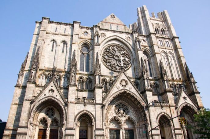 Cathedral of St. John the Divine outside