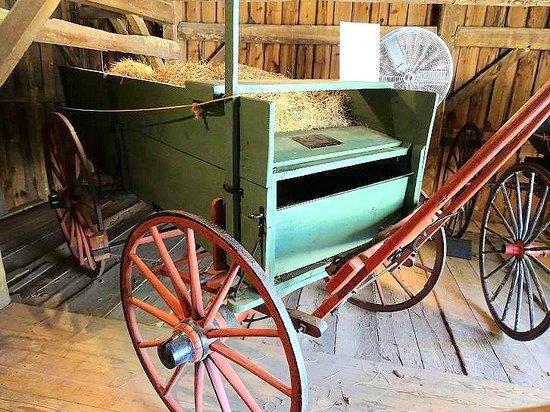 false bottom wagon Jamestown